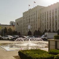 Администрация Краснодарского края. Вид с улицы Красная.