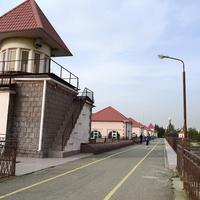 Невинномысская плотина на реке Кубань