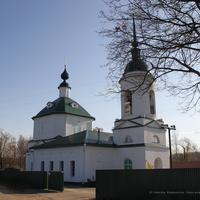 Церковь Николая Чудотворца в Лаптеве