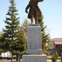 Памятник В.Куйбышеву.