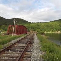 Мост перед Половинной