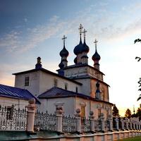 Палех. Крестовоздвиженская церковь.