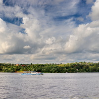 Волга возле Плёса.