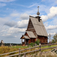 Старая церковь на горе Левитана.
