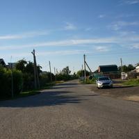 Центральная улица деревни Асошники