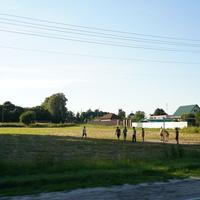 Парковая улица, футбольное поле
