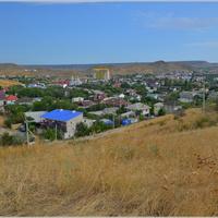 Вид на поселок с плато Тепсень