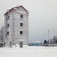 водозаборная башня в д. Нижняя Омра