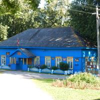 Под одной крышей сельсовет, почта и библиотека