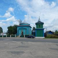 Троицкая церковь  и колокольня ( 1838 г. )