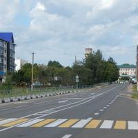 Улица в центре посёлка