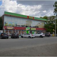 """ПГТ Коктебель. ул. Ленина. Магазин """"Фора"""""""