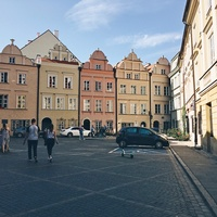 Уютный Варшавский дворик