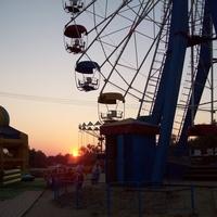 Станица Голубицкая. На закате.