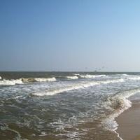 Станица Голубицкая. Пляж