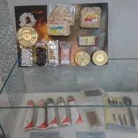 Музей космонавта Валерия Быковского. Космическое питание, побывавшее в космосе