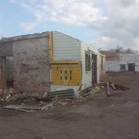 Руины Синельниковского молочного завода.