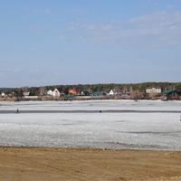 Вид на село из Ордынского.