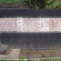 Имена погибших воинов освободителей села Завадовка и ещё 144 неизвестных`.