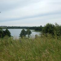 Вид со стороны церкви на северную часть Черейского озера