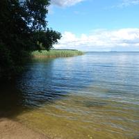 Лукомское озеро в районе турстоянки