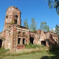 Остатки церкви Св.Ильи 1917г.