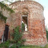 Остатки церкви Св.Ильи (апсидная часть)