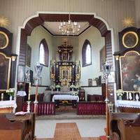 Алтарная часть костела Св.Юрия