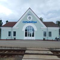 Ж.д.станция Скрибовцы (в 1 км. от Мурованки)