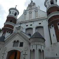 Маломожейковская церковь оборонного типа 1524г. ( центральный вход)