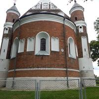 Вид Маломожейковской церкви со стороны апсиды