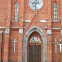 Фрагмент костёла Св. Апостолов Петра и Павла