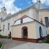 Костёл Св. Яна (Иоанна) Крестителя (вид с тыльной стороны)