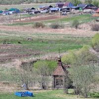 Волосово, водосвятная часовня Николая Чудотворца у реки Колочка