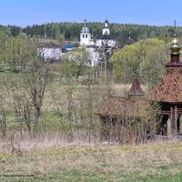 Никольский источник и Николо-Волосовский  монастырь в Волосове