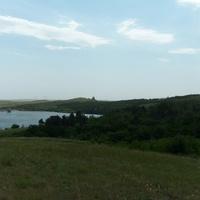 Каменское водохранилище.