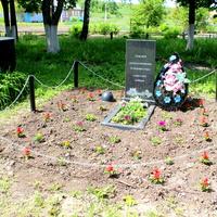 Новая братская могила погибших в 1942-1943 годах.