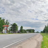 Межисетки. Дорога на  Бобруйск.
