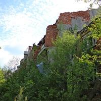 """Заброшенный санаторий """"Лесное"""" возле деревни Рудня"""