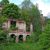 Усадьба Тышкевичей урочище Вялое возле деревни Рудня
