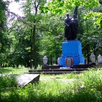 Братская могила освободителей села Елизаветградка.