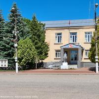 Здание администрации района,  Советская площадь
