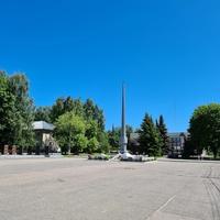 Советская площадь, мемориал ВОВ