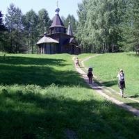 Село Владимирское - озеро Светлояр - дорога к Казанской церкви