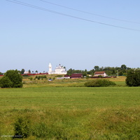 с. Менчаково, панорама с юго - востока