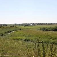 Долина р. Ирмес . Вид от Богородицкой церкви в сторону с. Романова