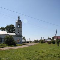 Омутское. Церковь Ефрема Сирина на Центральной улице