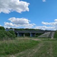 Мост через р. Пекша (М7) около пос. Пекша