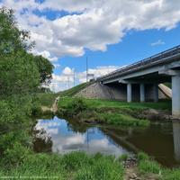 Мост через р. Пекша  около пос. Пекша