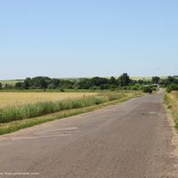 Панорама с. Кистыш,  вид с востока